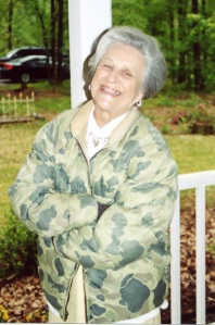 My Grandmother, Mary Bass (May)