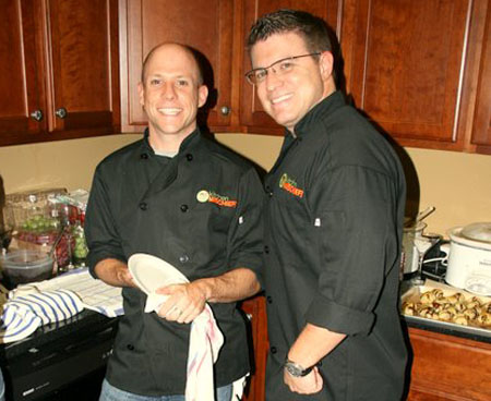 Don't those chef jackets look snazzy! Thanks, Matthew!