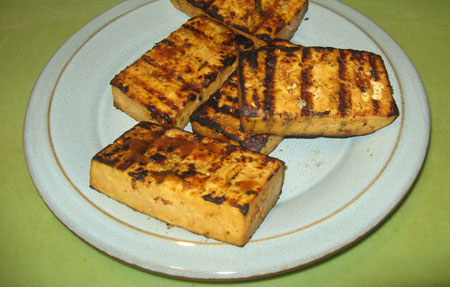 tofu, grilled
