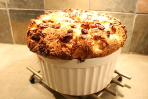 Looks like a HUGE cranberry muffin