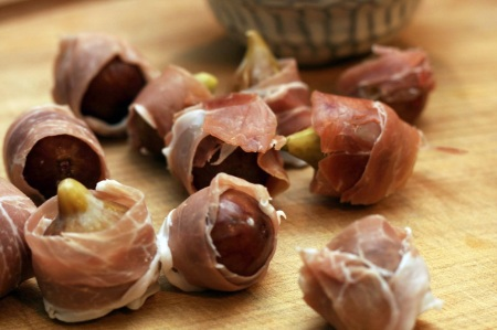 Figs in their little meat jackets